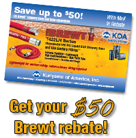 Click here for your $50 Brewt rebate!